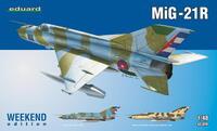 МиГ-21Р самолет-разведчик - 84123 Eduard 1:48