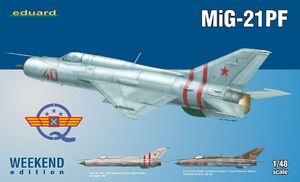 МиГ-21ПФ перехватчик - 84127 Eduard 1:48