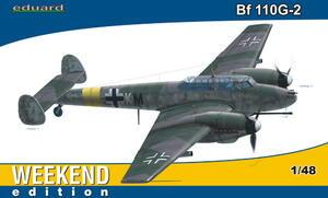 Bf.110G-2 истребитель - 84140 Eduard 1:48