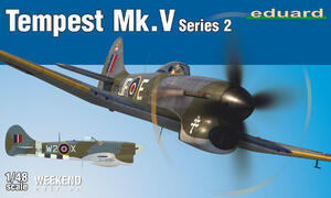 Tempest Mk.V (Темпест) 2-серия Weekend Edition - 84170 Eduard 1:48