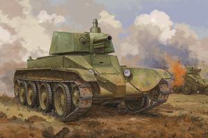Д-38 артиллерийский танк - 84517 Hobby Boss 1:35