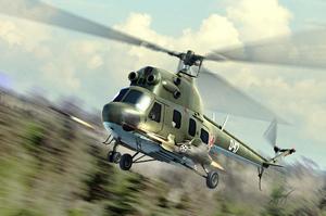 Ми-2УРН вертолет разведки и огневой поддержки - 87243 Hobby Boss 1:72