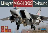 МиГ-31Б/БС (Foxhound) истребитель-перехватчик - 88008 AMK 1:48