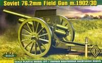 76.2-мм полевая пушка образца 1902/1930 трехдюймовка с передком - 72252 ACE 1:72