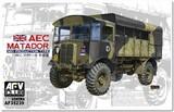 """АИК """"Матадор"""" (AEC Matador 0853) 4х4 армейский грузовик обр. 1942 г. AF35239 AFV Club 1:35"""