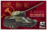 Т-34-85 mod.1944 factory No.183 transparent turret - AF35S55 AFV Club 1:35