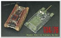 Т-34-76 средний танк обр. 1943 г. AF35S57 AFV Club 1:35