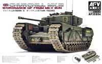 «Черчилль» Мк 4 (Infantry Tank Mk.IV Churchill)  тяжелый пехотный танк. 35S54 AFV Club 1:35