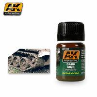 Dark Mud Effects (Эффект грязь эмаль) 35 мл - AK-023 AK Interactive