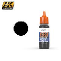 Flat Black (Черный матовый) 17 мл - AK-735 AK Interactive
