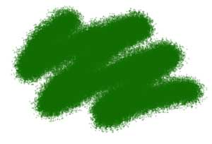 Краска №21 зеленый авиа-интерьерный - 21-акр Звезда 12мл