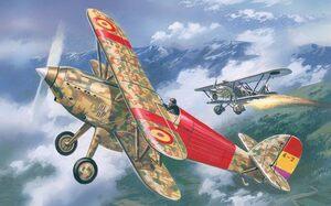 Hawker Fury - 72139 Amodel 1:72