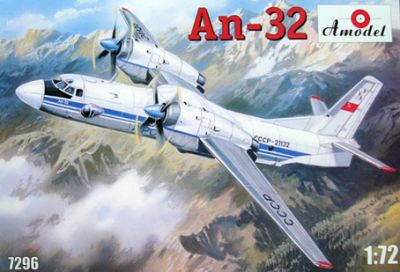 Ан-32 - 7296 Amodel 1:72