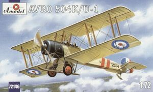 Avro 504K/U-1 - 72146 Amodel 1:72