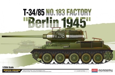 Т-34-85 Завод 183 Берлин 45 средний танк - 13295 Academy 1:35