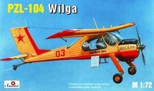 PZL-104 Wilga - 7232 Amodel 1:72