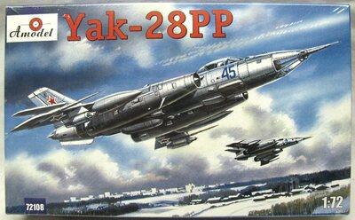 Як-28ПП - 72108 Amodel 1:72