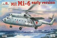 Ми-6 тяжёлый транспортный вертолет (ранний) - 72119 Amodel 1:72
