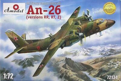 Ан-26РТ самолет радиотехнической разведки - 72134 Amodel 1:72