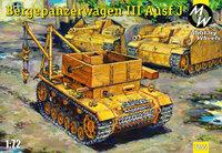 Bergepanzerwagen  T-III. Масштаб 1/72