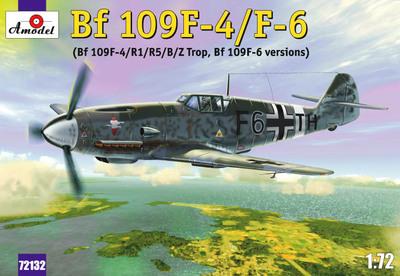 Bf.109F-4/F-6 Messerschmitt - 72132 Amodel 1:72
