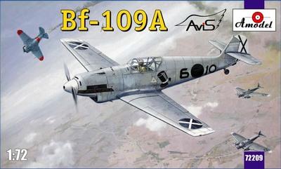 Bf.109A Messerschmitt - 72209 Amodel 1:72