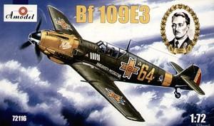 Bf.109Е3 Messerschmitt - 72116 Amodel 1:72