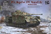 Pz.Kpfw.IV Ausf.G mid/late - BT-001 Border 1:35