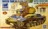 Cruiser Tank A10 Mk I-IA-IA CS крейсерский танк - CB35150 Bronco 1:35