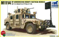 """М1114 """"Хаммер"""" (М1114 Up-Armored HMMWV) спецавтомобиль. CB35092 Bronco 1:35"""