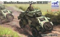 Humebr Mk III средний бронеавтомобиль. CB35112 Bronco 1:35