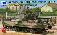 «Валентайн IX» (Mk.III Valentine IX) пехотный танк. CB35144 Bronco 1:35