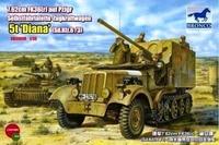 Panzerjager Diana эрзац-САУ Африканского корпуса - CB35038 Bronco 1:35