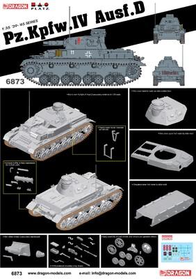 Pz Kpfw IV Ausf D - Dragon 6873 1:35