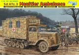 Sd.Kfz.3 Maultier Ambulance - 6766 Dragon 1:35