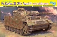 Т-III (Pz.Kpfw.III Ausf.M Flammpanzer) огнеметный средний танк - 6776 Dragon 1:35