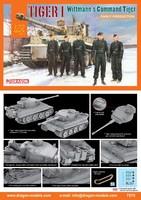Pz Kpfw VI «Тигр» тяжелый танк ранний М. Виттмана. 7575 Dragon 1:72