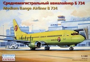 Б-737-400 Авиалайнер S7 (B734 S7) - 14425 Восточный Экспресс 1:144
