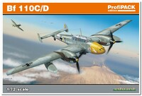 Bf 110C/D  тяжелый истребитель Zerstorer. 7081 Eduard 1:72