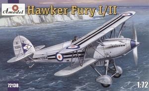 Hawker Fury I/II - 72138 Amodel 1:72