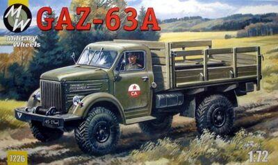 Грузовик ГАЗ - 63A. Масштаб 1/72