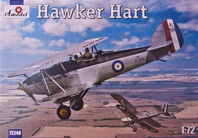 Hawker Hart - 72240 Amodel 1:72