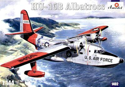 Grumman HU-16B Albatross - 1402 Amodel 1:144