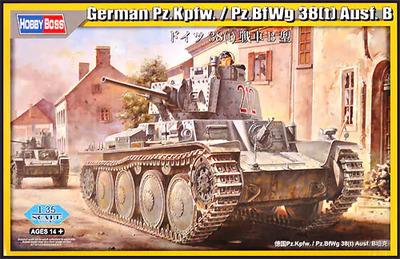 Pz.Kpfw/Pz.Bf.Wg 38(t) Ausf.B - 80138 Hobby Boss 1:35