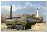9К714 Ока (SS-23 Spider) оперативно-тактический ракетный комплекс - 85505 Hobby Boss 1:35