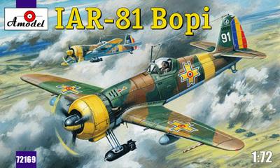 IAR-81 Bopi - 72169 Amodel 1:72