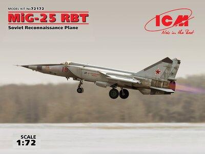 МиГ-25РБТ радио-разведчик - 72172 ICM 1:72