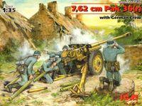 Pak 36(r) 7.62 см пушка с расчетом - 35801 ICM 1:35