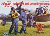 Пилоты и техники RAF (1939-1945). 48081 ICM 1:48