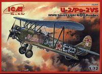 По-2 ночной легкий бомбардировщик - 72241 ICM 1:72